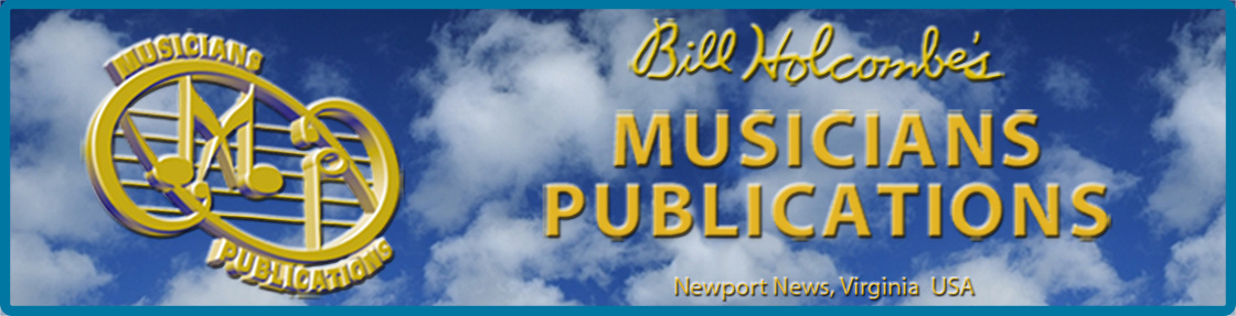Bill Holcombe's Musicians Publications - Musicians Publications : Online Store